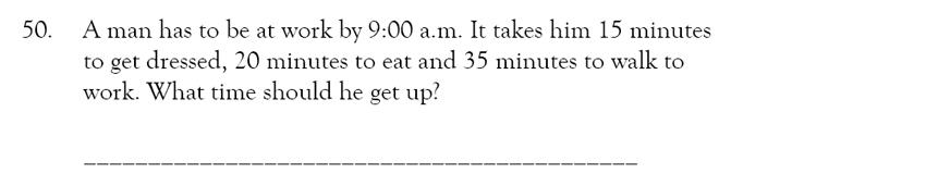 Magdalen College School - 9 Plus Maths Practice Paper Question 47