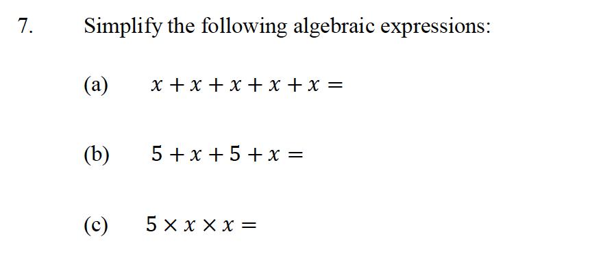 Oundle School - 10 Plus Maths Entrance Exam Paper 2013 Question 09