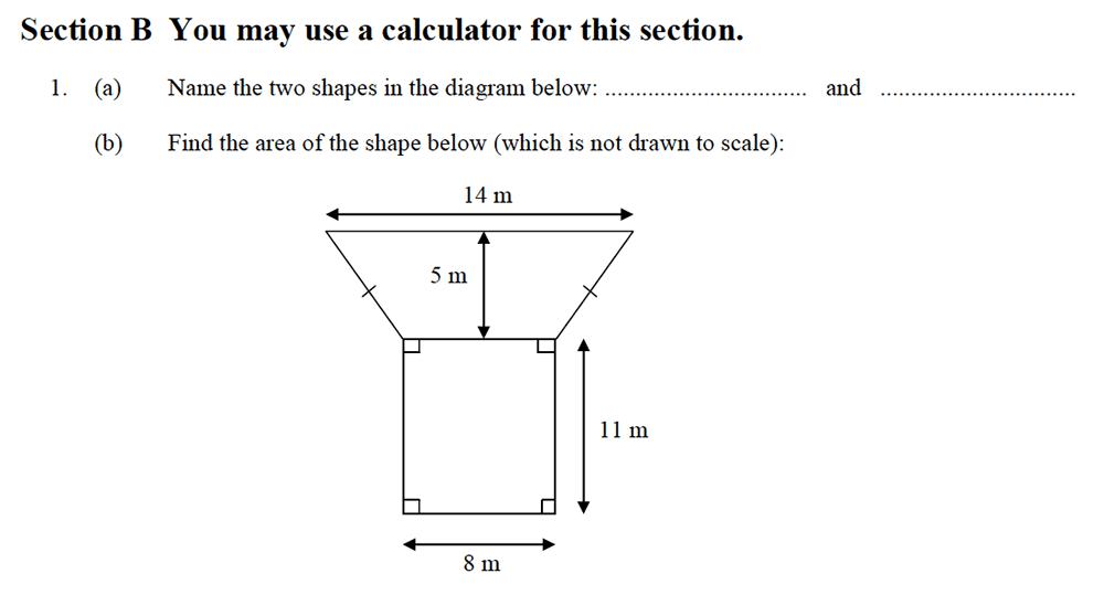Oundle School - 10 Plus Maths Entrance Exam Paper 2013 Question 10