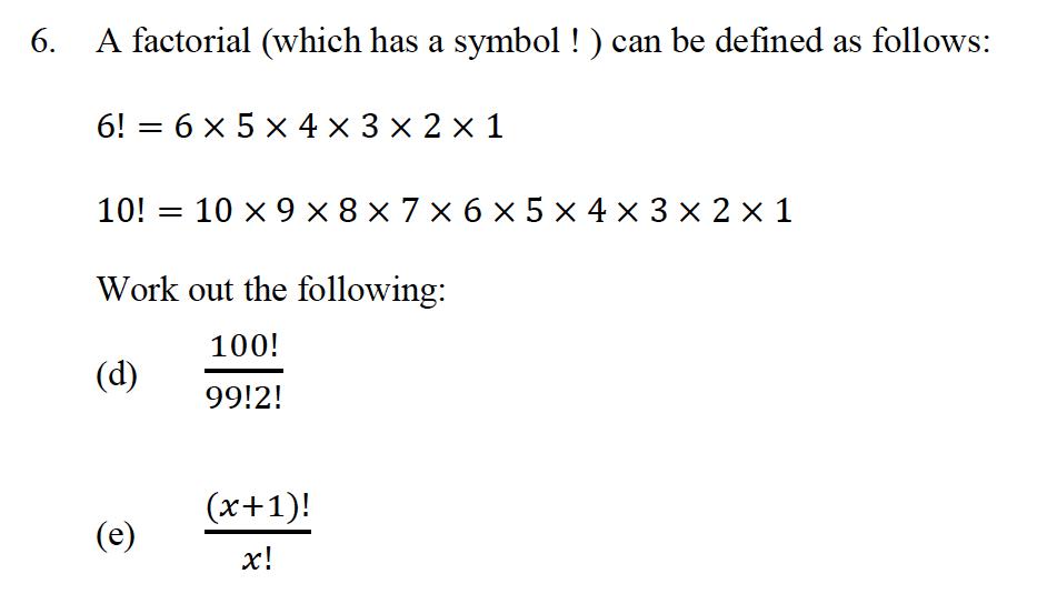 Oundle School - 10 Plus Maths Entrance Exam Paper 2013 Question 16