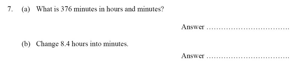 Oundle School - 10 Plus Maths Entrance Exam Paper 2014 Question 08