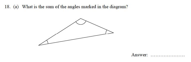 Oundle School - 9 Plus Maths Practice Paper 2012 Question 24