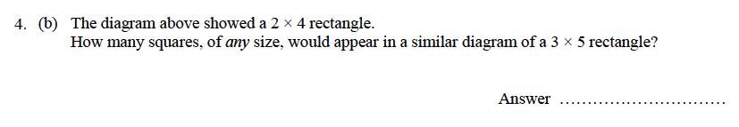 Oundle School - 9 Plus Maths Practice Paper 2014 Question 06