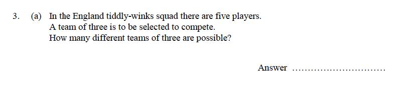 Oundle School - 9 Plus Maths Practice Paper 2014 Question 25