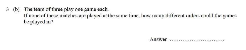 Oundle School - 9 Plus Maths Practice Paper 2014 Question 26