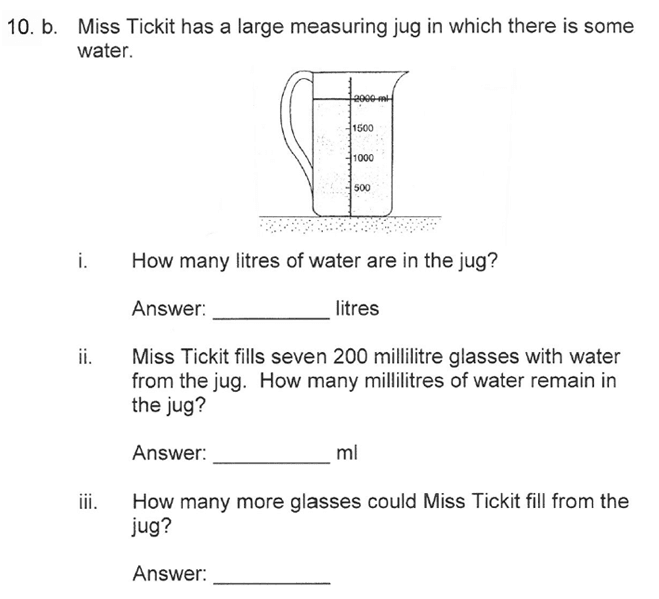 Solihull School - 10 Plus Maths Sample Paper 1 Question 17