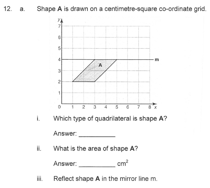 Solihull School - 10 Plus Maths Sample Paper 1 Question 20
