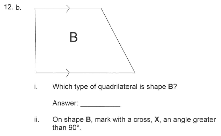 Solihull School - 10 Plus Maths Sample Paper 1 Question 21