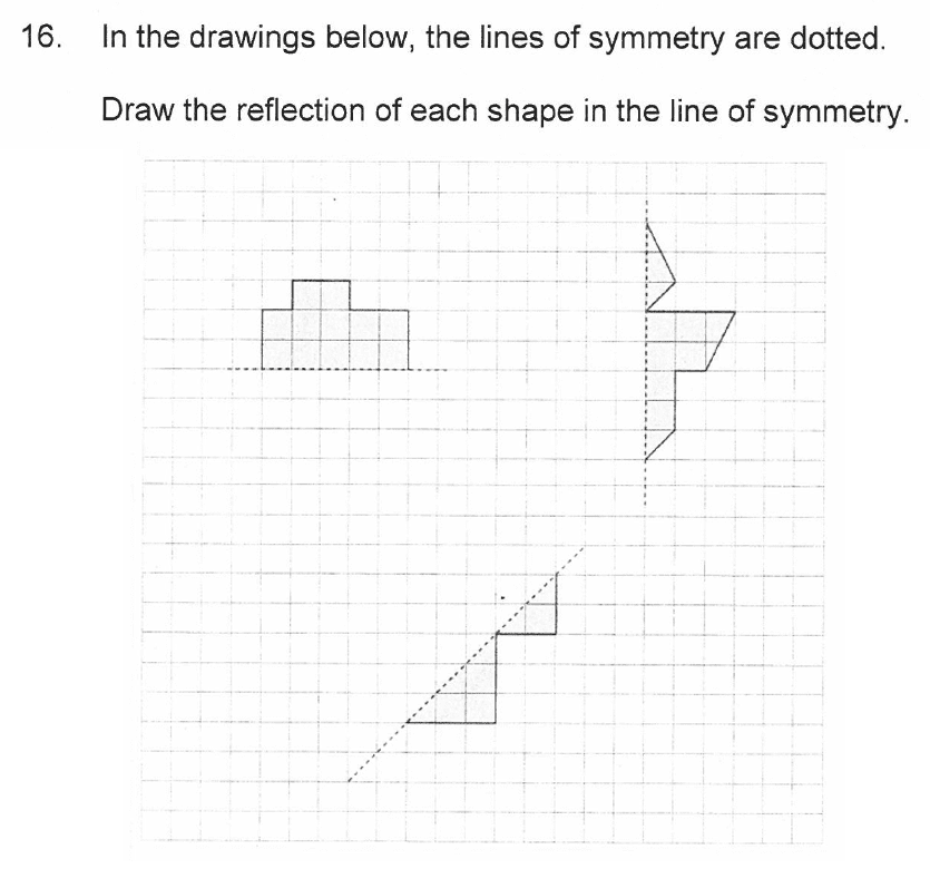 Solihull School - 10 Plus Maths Sample Paper 2 Question 16