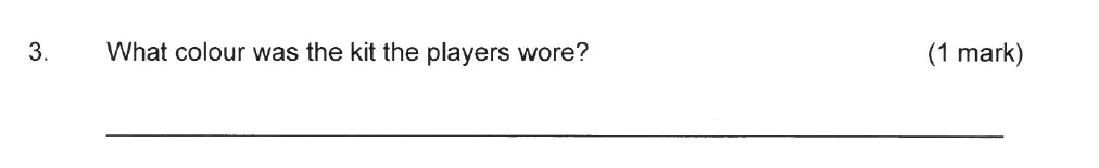 Solihull School - 8 Plus English Sample Paper 2 Question 03