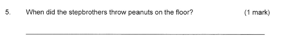 Solihull School - 8 Plus English Sample Paper 2 Question 05
