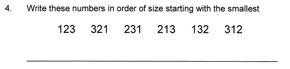 Solihull School - 8 Plus Maths Practice Paper 1 Question 04