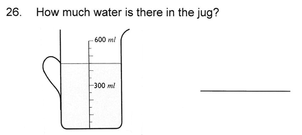Solihull School - 8 Plus Maths Practice Paper 1 Question 26