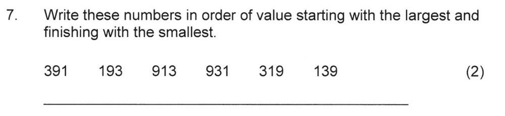 Solihull School - 8 Plus Maths Practice Paper 2 Question 08