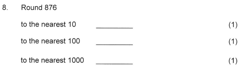 Solihull School - 8 Plus Maths Practice Paper 2 Question 09