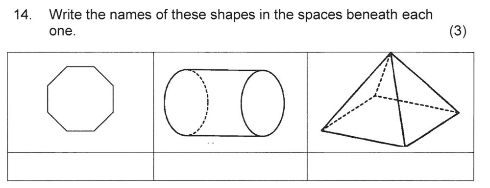 Solihull School - 8 Plus Maths Practice Paper 2 Question 16