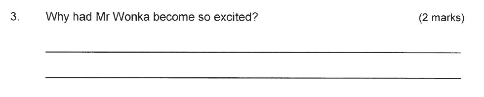 Solihull School - 9 Plus English Sample Paper 2 Question 03