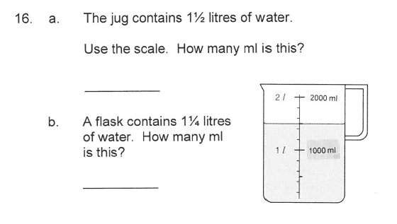 Solihull School - 9 Plus Maths Sample Paper 1 Question 19
