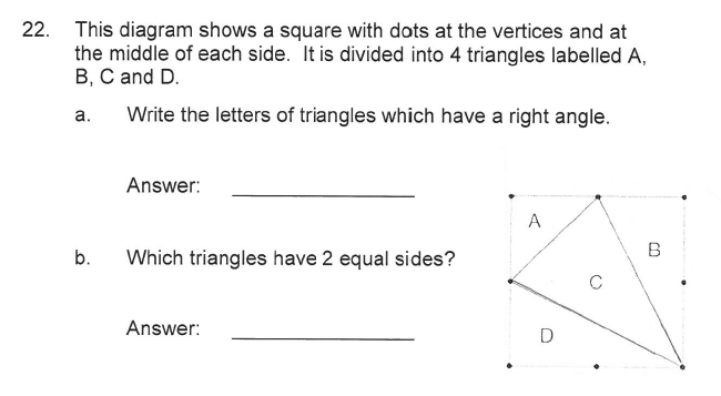 Solihull School - 9 Plus Maths Sample Paper 2 Question 23