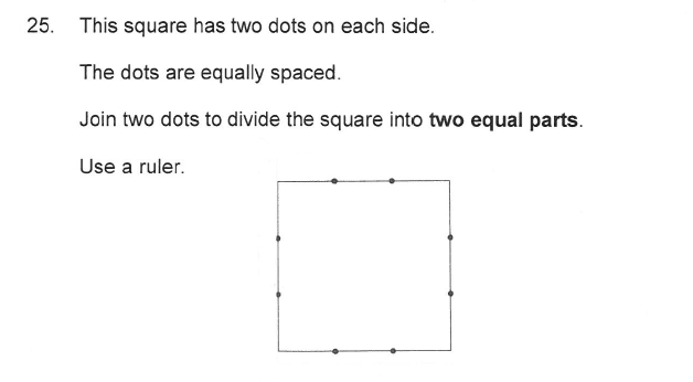 Solihull School - 9 Plus Maths Sample Paper 2 Question 27