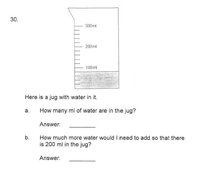 Solihull School - 9 Plus Maths Sample Paper 2 Question 35