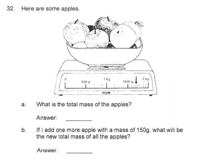 Solihull School - 9 Plus Maths Sample Paper 2 Question 37