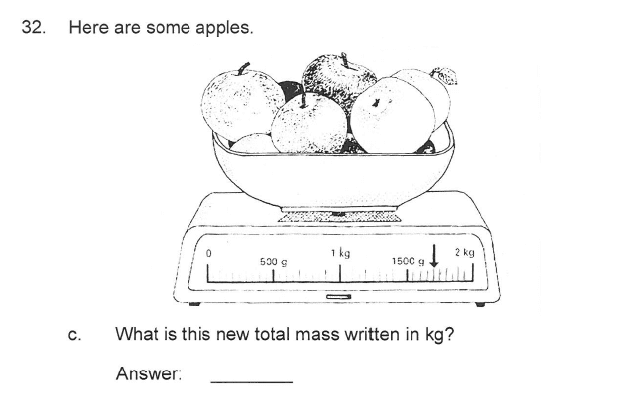 Solihull School - 9 Plus Maths Sample Paper 2 Question 38