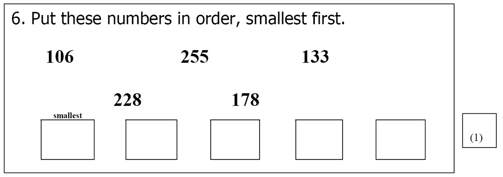 St Mary's School, Cambridge - Year 3 Maths Sample Test Paper Question 06