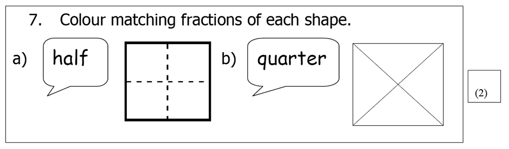 St Mary's School, Cambridge - Year 3 Maths Sample Test Paper Question 22