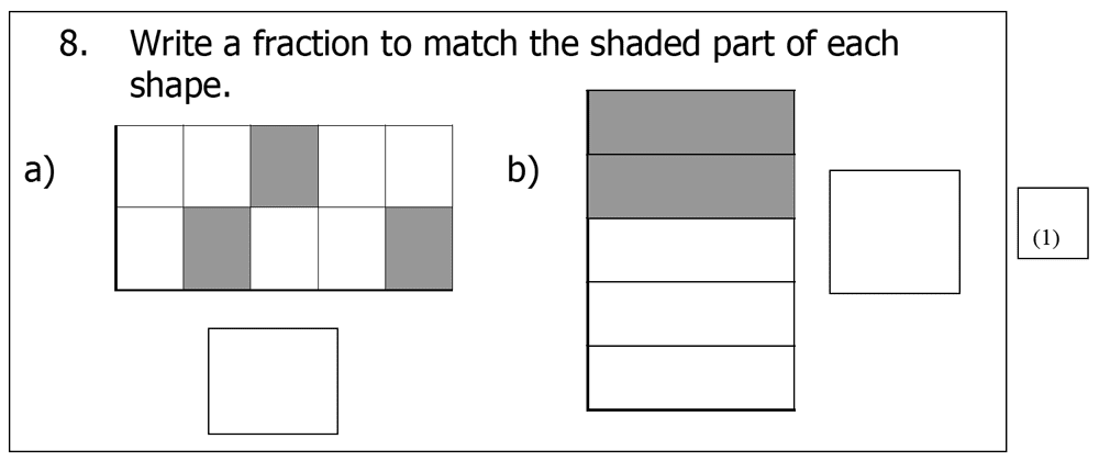 St Mary's School, Cambridge - Year 3 Maths Sample Test Paper Question 23