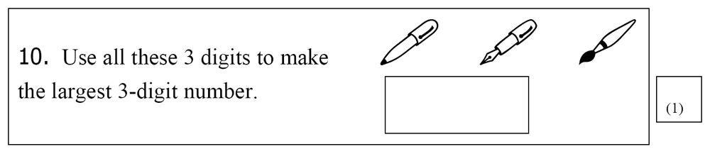 St Mary's School, Cambridge - Year 3 Maths Sample Test Paper Question 25