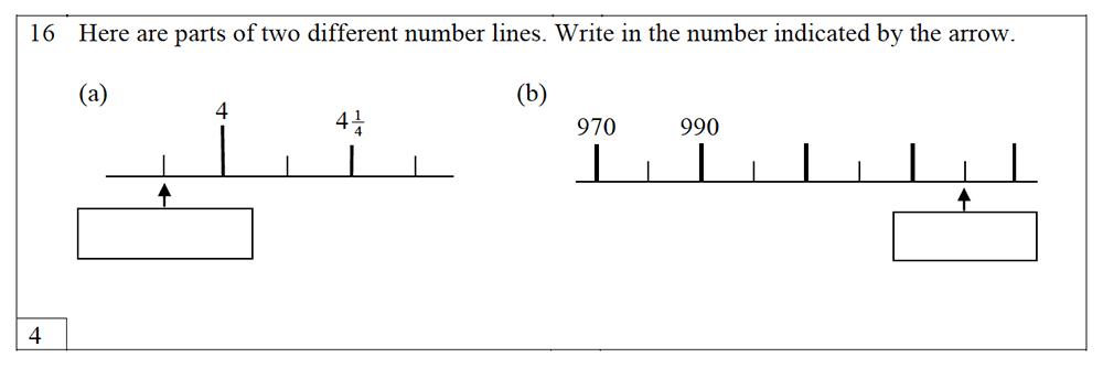 Trinity School - 10 Plus Maths Practice Paper Question 16