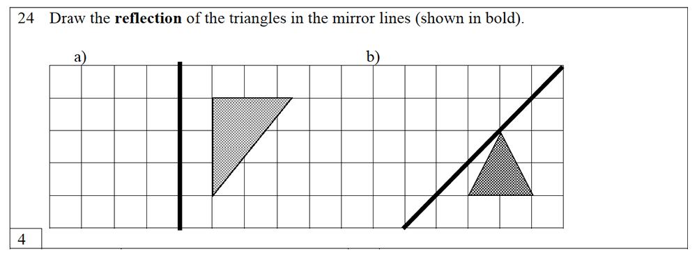 Trinity School - 10 Plus Maths Practice Paper Question 24