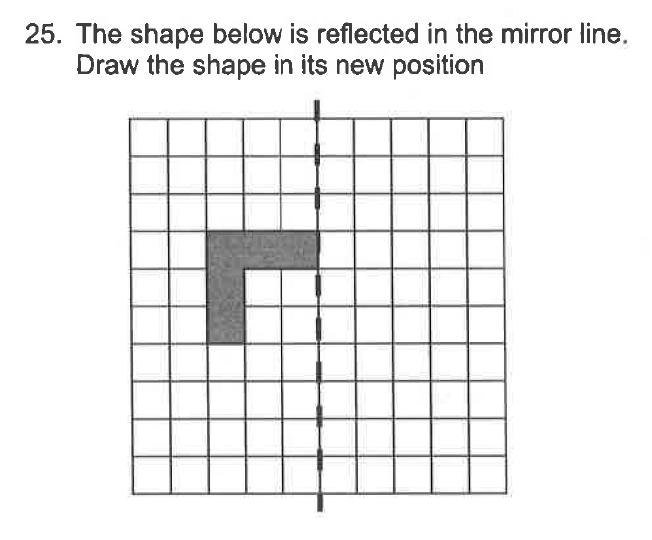 Trinity School - 10 Plus Maths Sample Questions Question 26