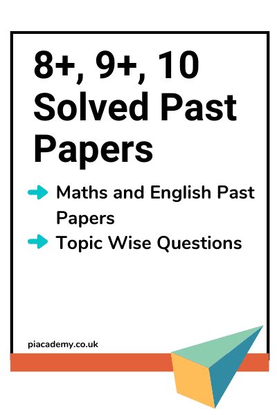 8 Plus, 9 Plus, 10 Plus Solved Practice Papers with Answers