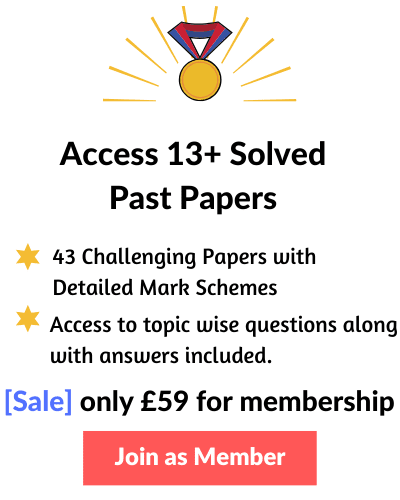 Access 13 Plus Exam Papers with Answers