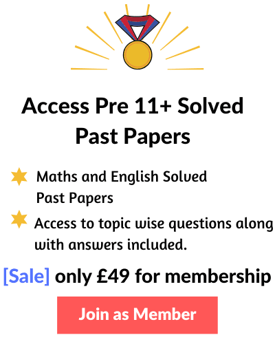 Access Pre 11 Plus Exam Papers with Answers