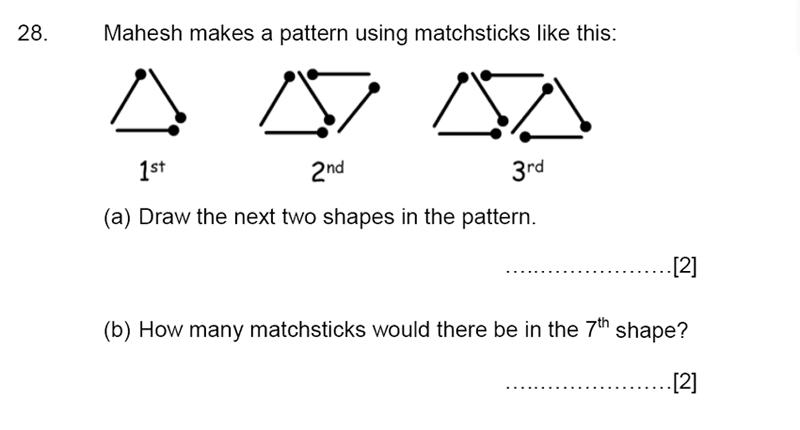 Aldenham School - 13 Plus Maths Sample Paper 2015 Question 29
