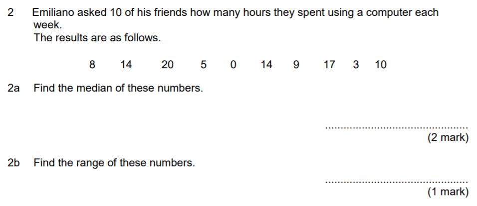 Aldenham School - 13 Plus Maths Sample Paper 2017 Question 02