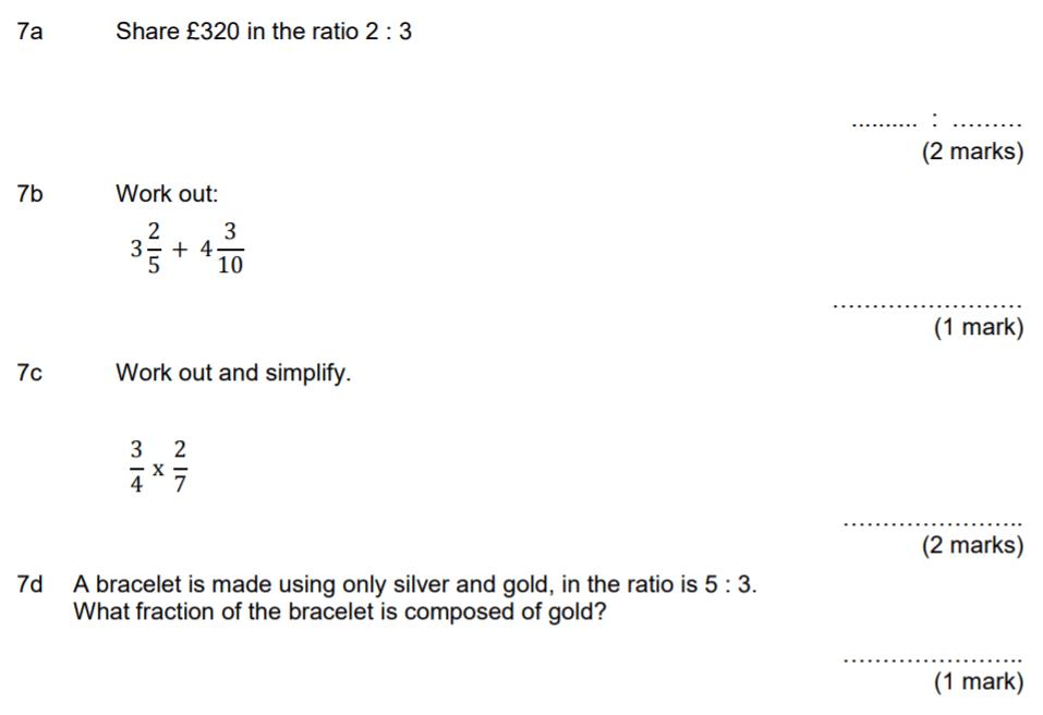 Aldenham School - 13 Plus Maths Sample Paper 2017 Question 08