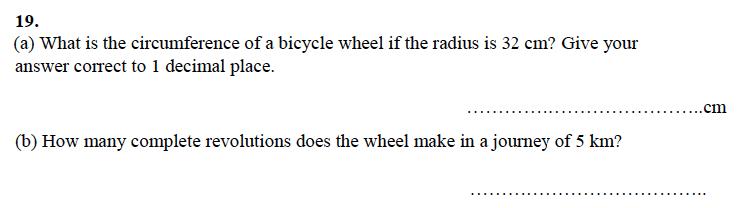 Alleyn's School - 13 Plus Maths Sample Examination Paper 1 Question 21