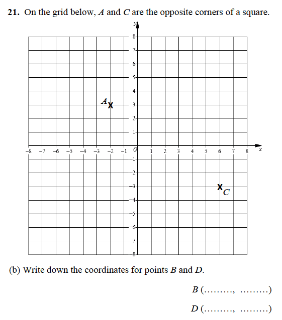 Alleyn's School - 13 Plus Maths Sample Examination Paper 1 Question 25