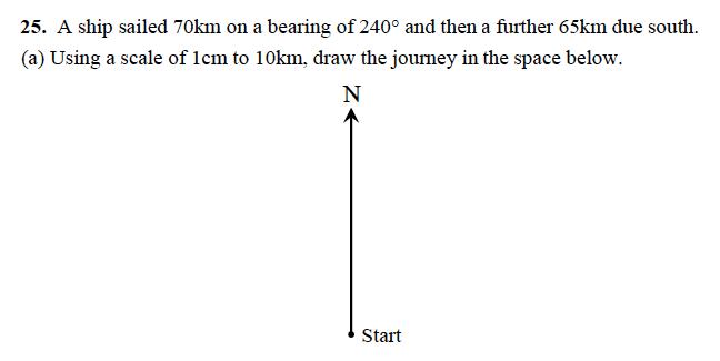 Alleyn's School - 13 Plus Maths Sample Examination Paper 1 Question 29