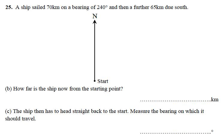 Alleyn's School - 13 Plus Maths Sample Examination Paper 1 Question 30