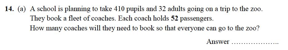 Alleyn's School - 13 Plus Maths Sample Examination Paper 2 Question 15