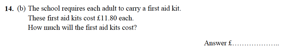 Alleyn's School - 13 Plus Maths Sample Examination Paper 2 Question 16