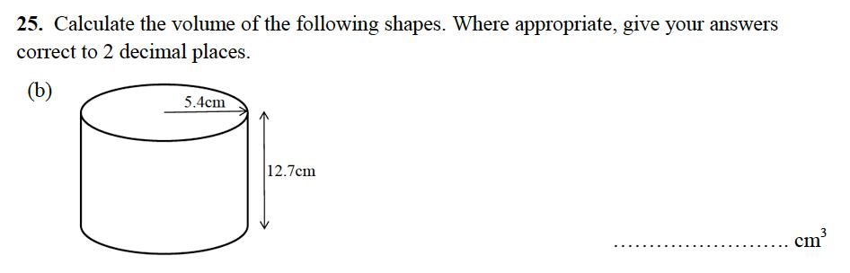 Alleyn's School - 13 Plus Maths Sample Examination Paper 2 Question 43