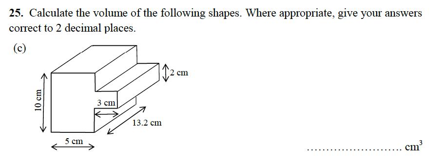 Alleyn's School - 13 Plus Maths Sample Examination Paper 2 Question 44