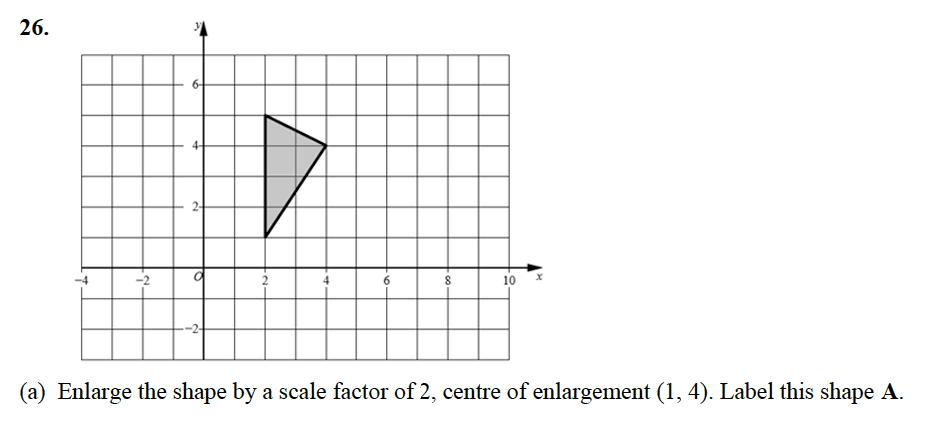 Alleyn's School - 13 Plus Maths Sample Examination Paper 2 Question 45