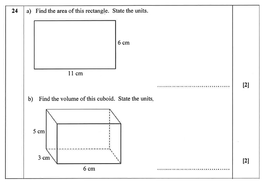 Christ's Hospital - Residential Assessment Year 9 Maths Question 25